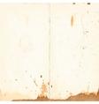 vintage sheet of paper vector image