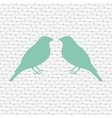 birds decoration design vector image vector image