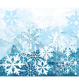 diamond snow vector image vector image