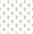 doodle style hand drawn light bulbs vector image