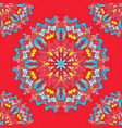 ornament beautiful seamless pattern with mandala vector image vector image
