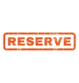 Reserve Rubber Stamp vector image vector image