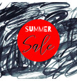 summer sale lettering inscription special offer vector image vector image