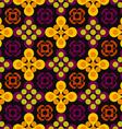 Abstract pattern of circles vector image vector image