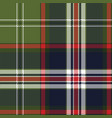 blue green check plaid seamless pattern vector image vector image