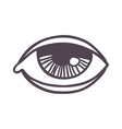 Esoteric eye symbol vector image