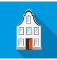 Front of house icon flat style vector image vector image