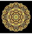 Geometric pattern Mosaic banner of geometric shape vector image vector image
