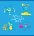 joy 2 vector image