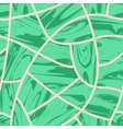 Malachite Cobblestone seamless background vector image