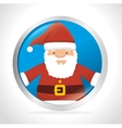 Merry christmas colorful card vector image vector image
