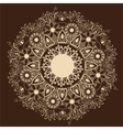 ornamental round lace patterndelicate circle