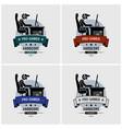 pro gamer esports logo design artwork vector image