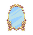 royal object mirror vector image