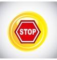 traffic signal design vector image vector image