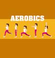 woman and aerobics