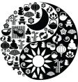 Ying yang symbols vector | Price: 1 Credit (USD $1)