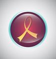 awareness ribbon vector image