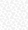 Seamless triangles paper pattern vector image vector image