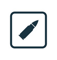 bullet icon Rounded squares button vector image