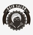 hair salon design vector image vector image