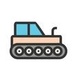 Industrial Tractor vector image