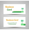 InsectBusinessCards2 vector image