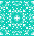 seamless pattern vintage ethnic ornament vector image vector image