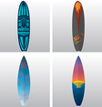 Surfboard vector image