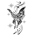 butterfly tattoov vector image