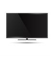 a modern flat screen televi vector image
