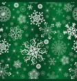 abstract green gradient christmas pattern vector image vector image