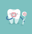 brace tooth and equipment of dental vector image