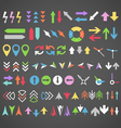 Color arrows collection vector | Price: 1 Credit (USD $1)