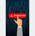downloading digital vertical concept vector image