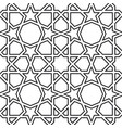 girih seamless pattern authentic arabian pattern vector image