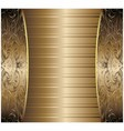 Gold Vintage Background vector image