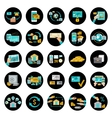 set banking icons vector image vector image