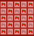 strawberries in a photo frame laid out in the form vector image vector image