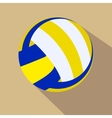 Volleyball Single color flat icon vector image vector image