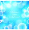 Abstract colorful shining bokeh background vector image