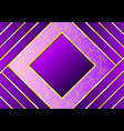 beautiful pattern with purple and gold stripes vector image vector image