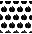Black And White Halloween Pattern vector image vector image