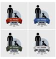 dog training logo design artwork of pet trainer vector image vector image