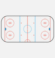 hockey arena backround eps 10 vector image