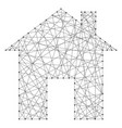 house schematic image of the icon from abstract vector image