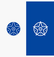 pentacle satanic project star line and glyph vector image vector image