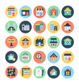 Real Estate Icons 1 vector image vector image
