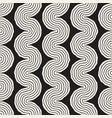 roughly drawn wavy stripes stylish graphic texture vector image vector image