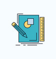 sketch sketching design draw geometry flat icon vector image